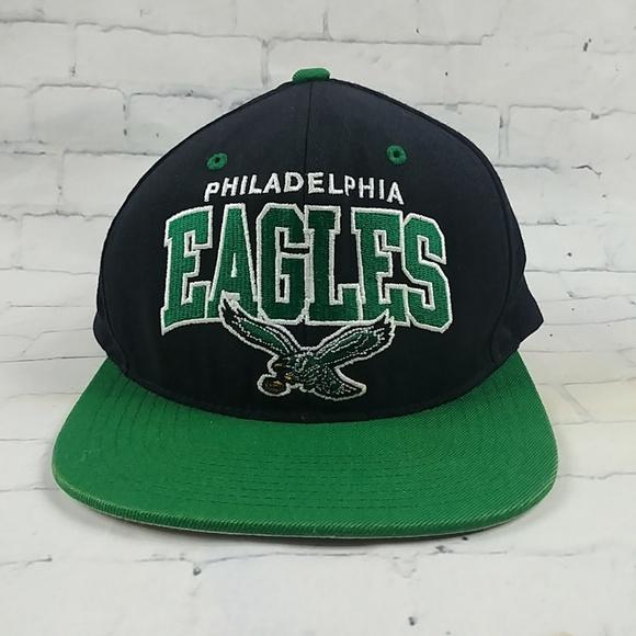 Mitchell Ness Philadelphia Eagles Throwback Hat